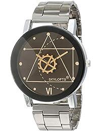 Skyloft Analog Black Dial Men's Watch - jh7