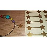 Sternförmig Schmuck Preisaufkleber, 500, Matte Gold Sterne preisvergleich bei billige-tabletten.eu