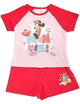 Disney - Pijama de verano de Minnie Mouse para niñas