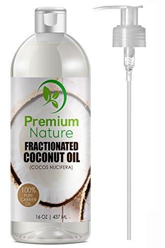 Premium Nature Fractionated Coconut Oil, Skin Moisturizer, Natural Carrier...