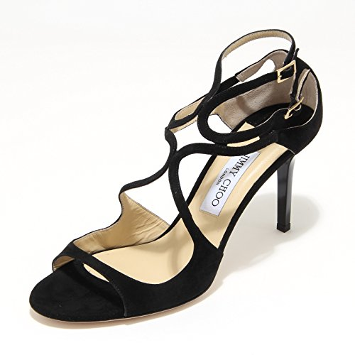 3424L sandali donna neri JIMMY CHOO scarpe shoes sandals women [40]
