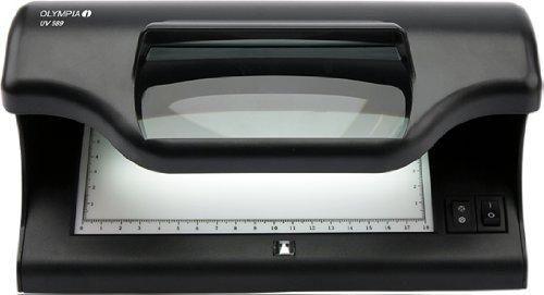 Olympia 589 Geldschein-Prüfgerät (UV-Lampe, Magnetsensor, Für Pässe und Ausweise, Banknotenprüfer für alle Geldscheine) (Falschgeld-scanner)
