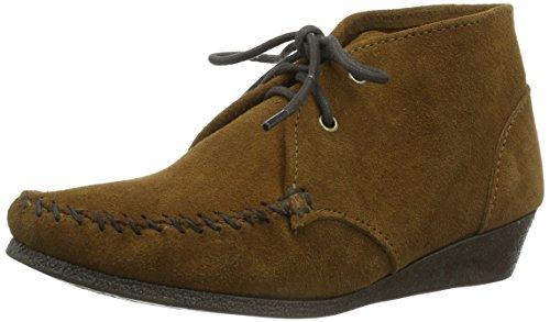 Minnetonka Chukka Wedge Boot Damen Chukka Boots Braun (Dusty Brown)