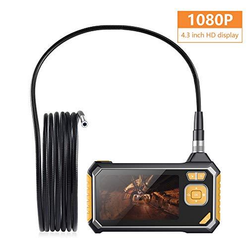 Lerln Endoskop Inspektionskamera WiFi USB Schlangen Kabel Digitales 1080P HD LCD Monitor Handheld Wasserdicht Tragbar Endoskopkamera für Pipeline Untersuchen/Auto Reparatur Handheld-lcd-monitor