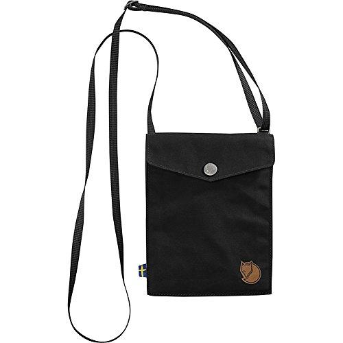 Fjällräven Unisex Pocket Schultertasche Black