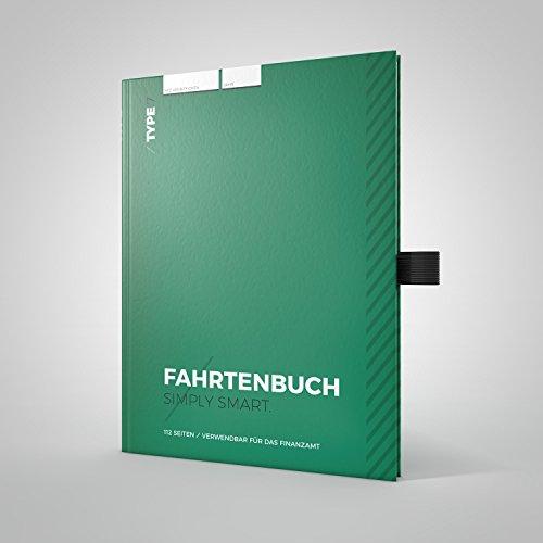 Type 7 - Premium-Fahrtenbuch, Hardcover, DIN A5, 112 Seiten, für Finanzamt geeignet - für PKW und LKW - Für Deutschland und Österreich