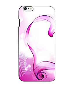 Crazymonk Premium Digital Printed 3D Back Cover For Apple I Phone 6 Plus