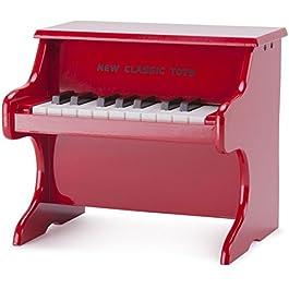 New Classic Toys piano–rosso–18tasti