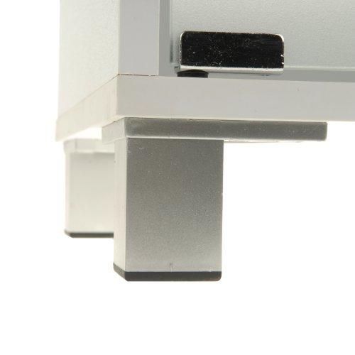 Waschbeckenunterschrank mit 3 Schubladen aus weißem Holz - 6