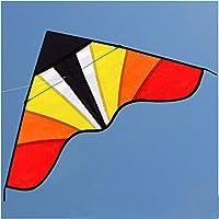 FZSWD Delta Kite 43 Pulgadas con línea de manija Buen Vuelocomo Regalo para niños