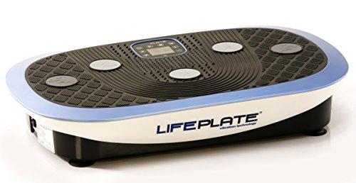 Vibrationsplatte Lifeplate 4.0 - 3D und seitenalternierende Schwingungen, Trainingsplatte 655x390mm, Aufstellmaße 750x460x140mm, Vibrationstraining, Laufsimulation, Fettabbau, Hautstraffung