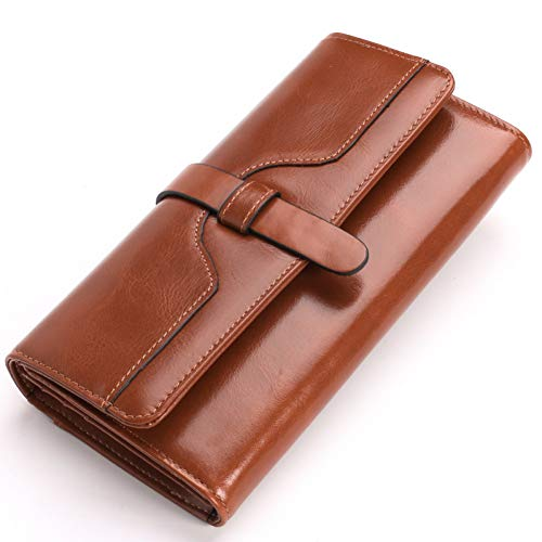 PVNKIT Mode Frauen Männer Echte Kreditkarteninhaber Bifold Geldbörse Kupplung Brieftasche Tasche Reißverschluss Weibliche Brieftasche Tasche - Brieftasche Snap-kupplung Geldbörse
