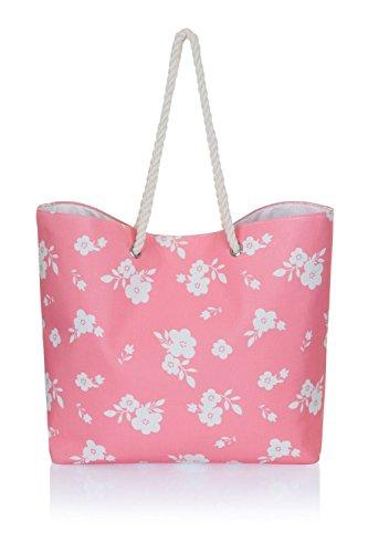 413uyp5Z4VL - Damen groß leinen sommer strand Tragetasche Einkaufstasche, verschiedene Styles