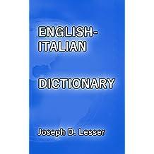 English/Italian Dictionary (Dictionaries Book 16) (English Edition)