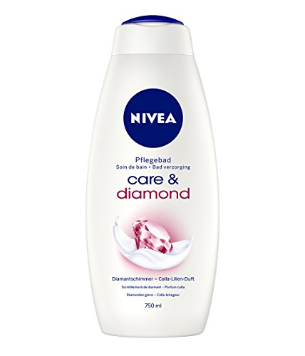 Nivea, Bagno crema Diamond Moments, 2 pz. da 750 ml