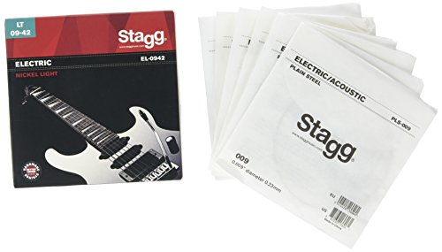 Stagg EL-0942 Light Nickel Electric Gitarrensaiten Set