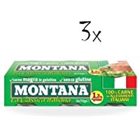 9x Montana Carne Classica Beef in Aspice 70g 100% Italian Meat! Ready to Read!
