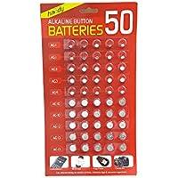 Batteria alcalina a bottone, confezione da 50by gr8vape