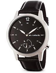 Runtastic Moment CLASSIC Uhr & Aktivitätstracker (mit Lederband) Silber