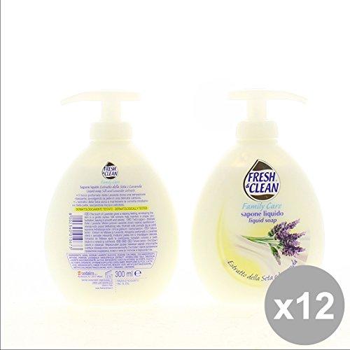 Set 12 FRESH&CLEAN Sapone Liquido 300 Seta/Lavand - Cura del Corpo
