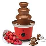 Global Gourmet Belgian Chocolate Fountain Fondue Large Set | 500ml Capacity Electric 3-Tier