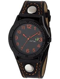 Cactus CAC-61-M08 - Reloj analógico de cuarzo infantil, correa de plástico color negro