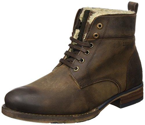 Salamander Herren Bill Biker Boots, Braun (Brown), 44 EU