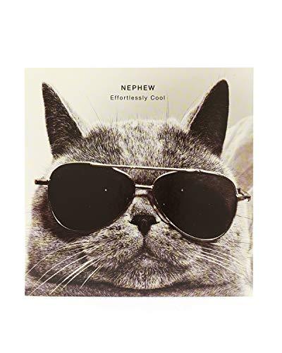 Cool Nephew Geburtstagskarte-Funny Katze mit Brille