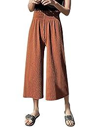 Amazon.it  pantaloni donna eleganti - QIYUN.Z   Donna  Abbigliamento d639df28cd4