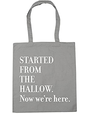 HippoWarehouse Started from the hallow. Now we're here Tote Shopping Gym Beach Bag 42cm x38cm, 10