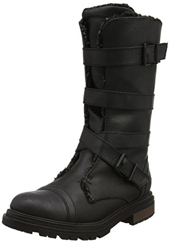 Rocket Dog Damen Lance Combat Boots, Schwarz (Black), 37 EU (Stiefel Schuhe Dog Rocket)