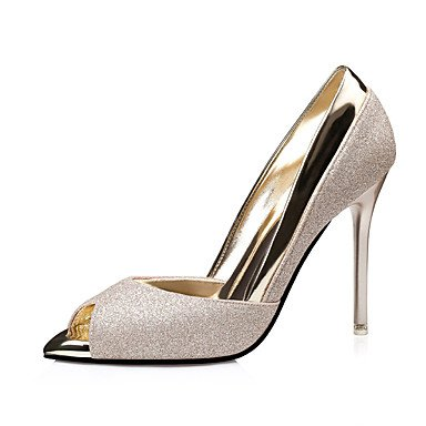 RTRY Donna Tacchi Pompa Di Base Pu Primavera Autunno Casual Office &Amp; Carriera Parte &Amp; Sera Stiletto Heel Ruby Argento Oro Nero 4A-4 3/4In US8 / EU39 / UK6 / CN39