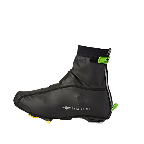 Sealskinz Handschuhe Lightweight Overshoe - Calentadores de ciclismo para hombre, color negro, talla S