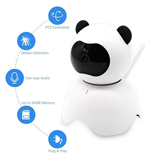XINCH Baby Wireless Camera - Haustier Kamera WiFi Remote Monitor Mobile Remote Home Intelligentes Netzwerk Hd Monito