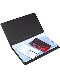 TRIXES Classeur pour cartes de visites (120) Faux en cuir pour professionnels