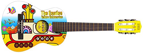 The BEATLES YELLOW SUBMARINE YSJG02 - Conjunto para guitarra Junior, color amarillo