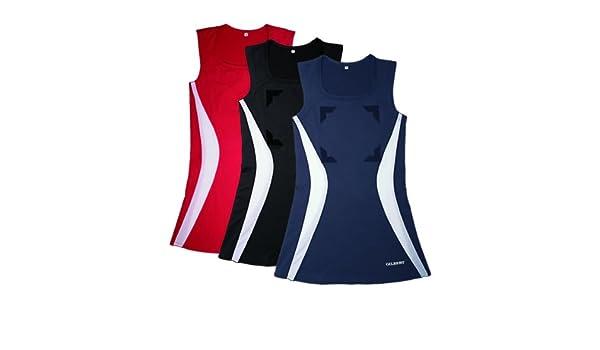 Navy//Sky GILBERT Ladies Eclipse Netball Dress L