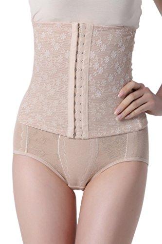 Toyobuy Femme Panty Montré Fesse Haute Taille Minceur Slip Slim Elastique Sculptante Lingerie Invisible