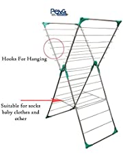 Peng Essentials Steel Butterfly Foldable Cloth Drying Rack/Stand