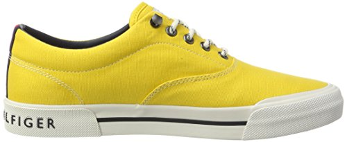 Tommy Hilfiger Herren Y2285armouth 1d Low-Top Gelb (FREESIA 701)