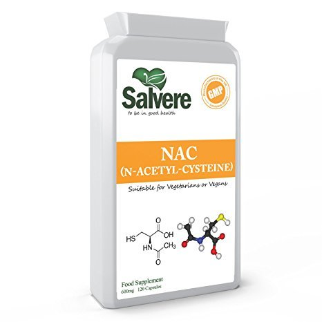 N Acetyl Cysteine 600 mg Supports Healthy Lungs & Liver