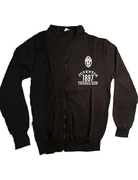 Felpa uomo con zip Juventus Abbigliamento Ufficiale calcio *24094