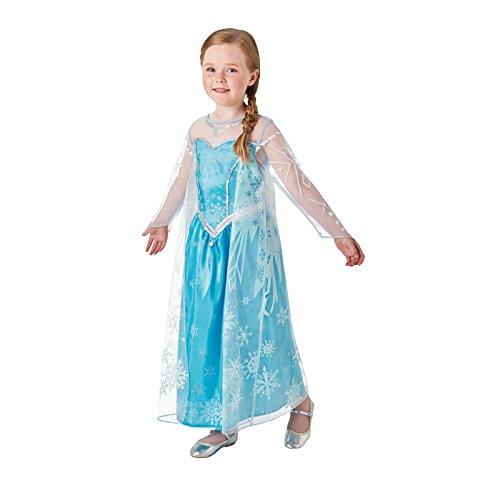 AEC - CS863034/S - Deguisement Luxe Elsa Reine des Neiges 3/4 ans