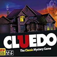Hasbro 38712 Cluedo Board Game, Multi Color