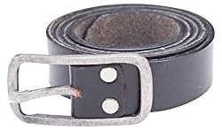 Spykar Mens Leather Belt (SPY/MBL/2AF19_Black_X-Large)