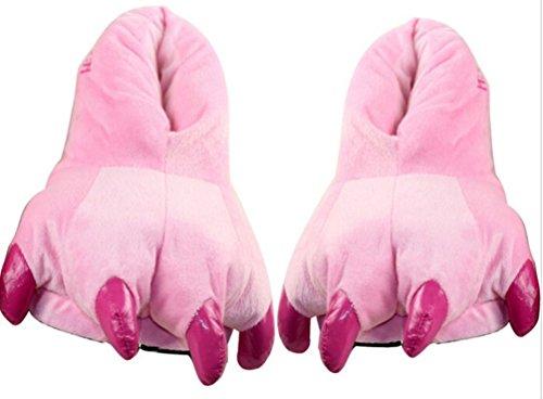 Déguisement Animaux Adulte - Feelme Combinaison Pyjama Llicorne Unisexe Outfit Nuit Fleece Carnaval Venise Costume Sleepwear Pink Claw