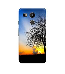 Ebby Premium Designer Back Cover for LG Nexus 5X (Designer Case)