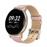 ساعة ذكية لتتبع اللياقة البدنية من ديكيل مع مراقب لمعدل نبضات القلب ومراقبة النوم وضغط الدم ساعة ذكية رياضية PYDECDEALH32291-RGKTSA