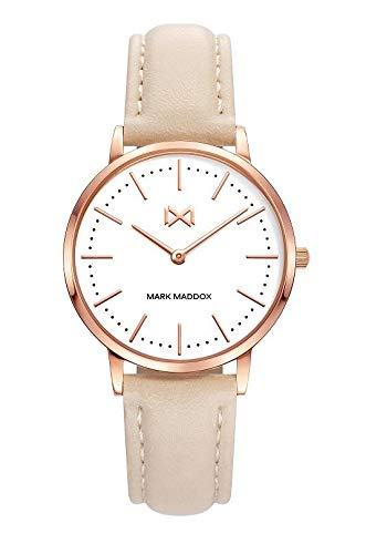 Mark Maddox Greenwich Women's Leather Watch MC7109-07