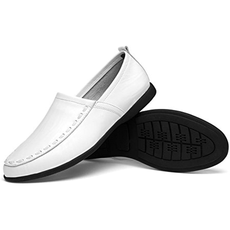 Hongjun-Chaussures, Chaussures Homme Cuir 2018 Mocassins en Cuir Homme v eacute;ritable pour Hommes Slip-on Suede Insal Mocassins - B07GNFX4DH - f3e8cc